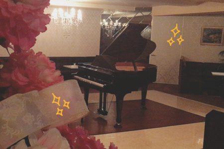 ピアニストさん来ます❣