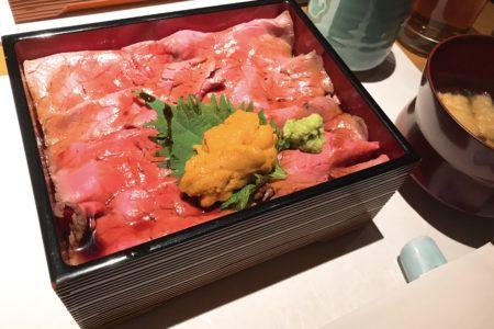 ローストビーフ丼😶☀️