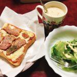 ある日の朝食☀️