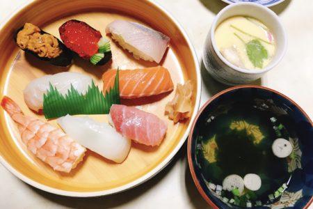 出前寿司🍣